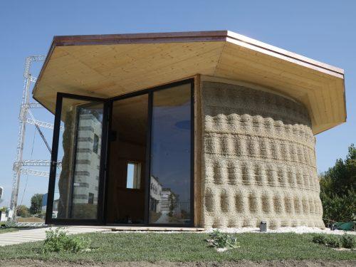 GAIA: la prima casa in terra stampata in 3d made in Italy