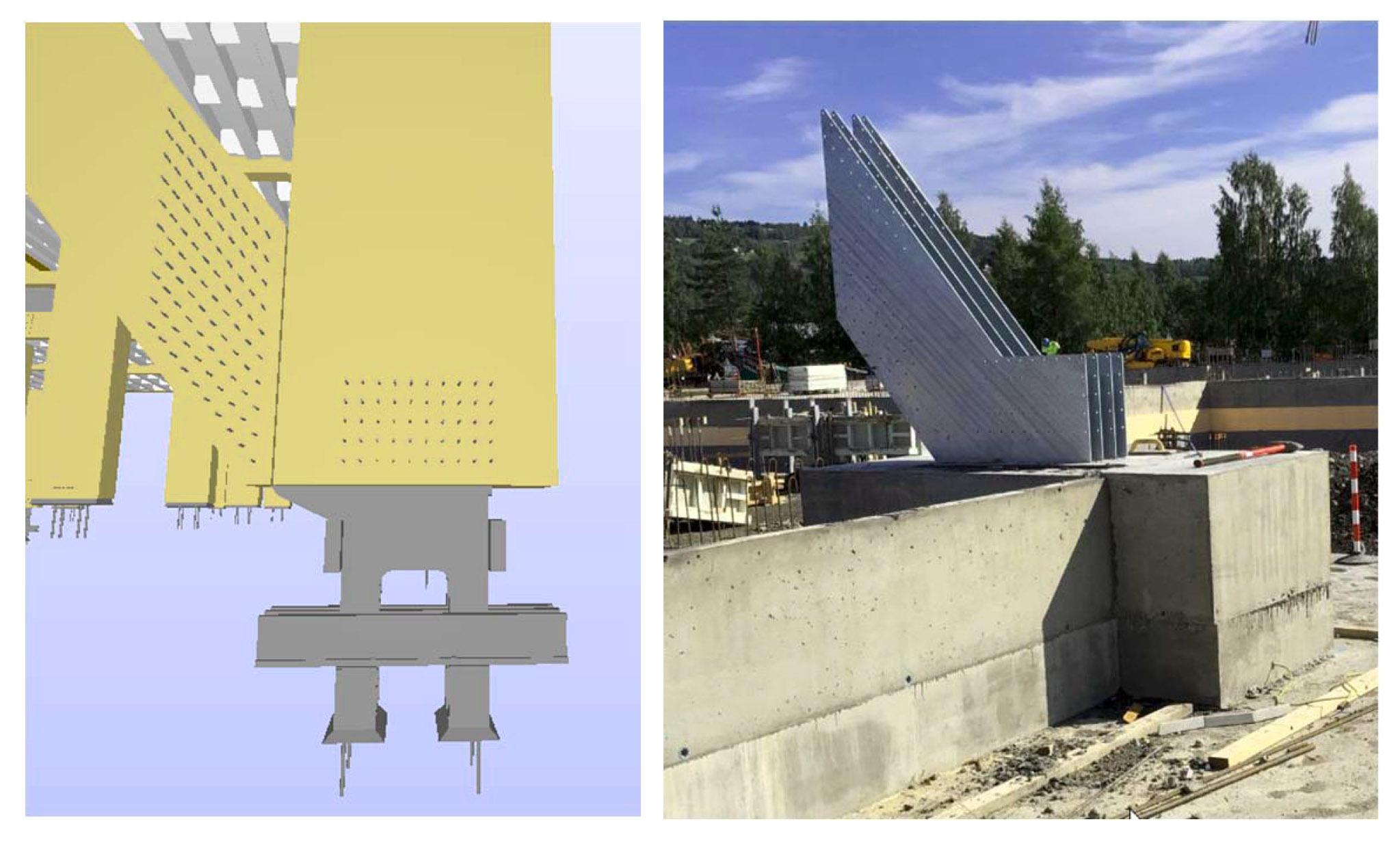 Mjøstårnet connessioni metalliche acciaio