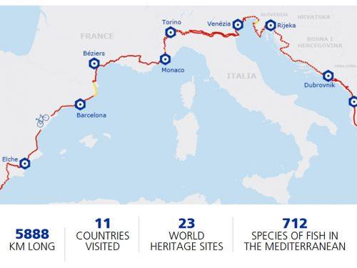 Eurovelo 8: la ciclabile del mediterraneo
