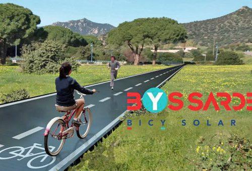 La prima ciclabile italiana che produce energia solare