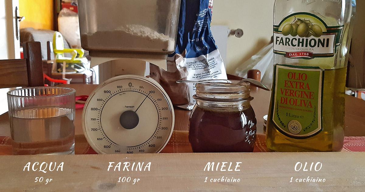 ingredienti pasta madre ricetta