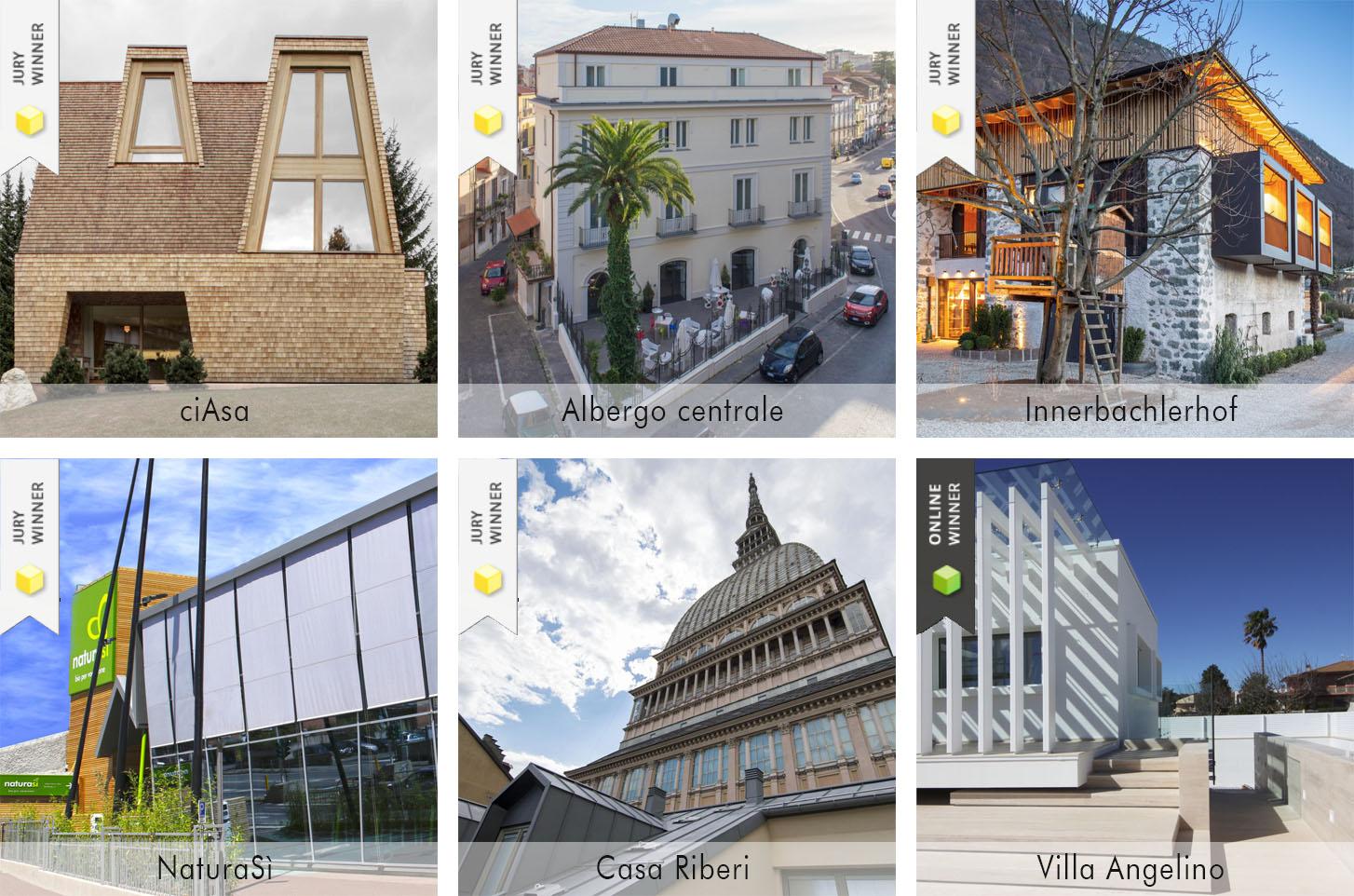 i progetti vincitori casaclima awards 2020