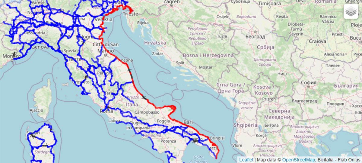Il corridoio verde adriatico: da Trieste a Santa Maria di Leuca