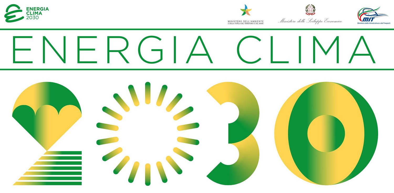 Logo energia clima 2030 agenda europa