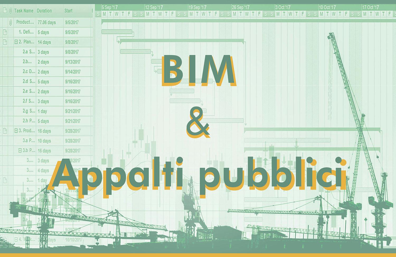 Building information modeling e opere pubbliche