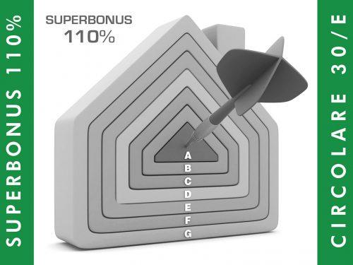 Superbonus: chiarimenti dall'Agenzia delle Entrate, con la circolare 30/E